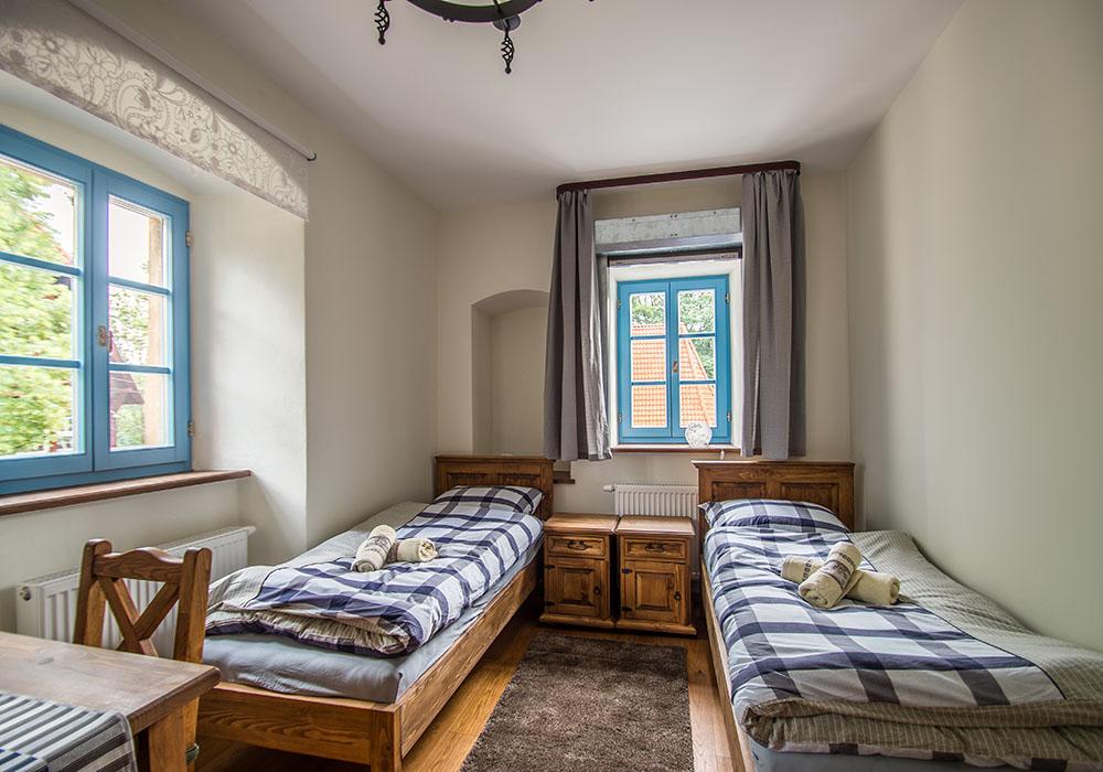 Pokój dwuosobowy w Zamku Grodno - Zagórze Śląskie